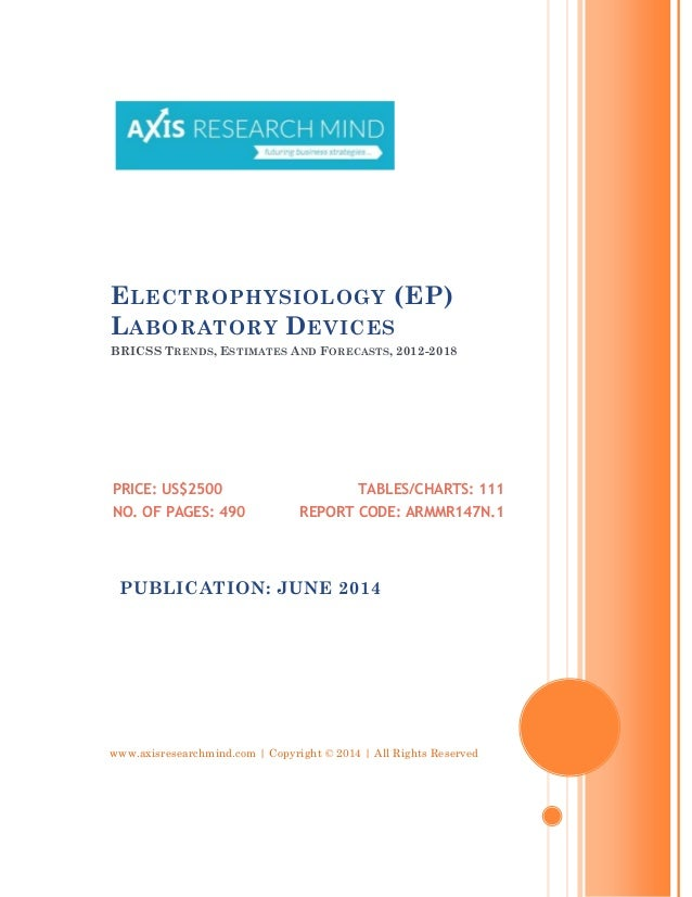 www.axisresearchmind.com | Copyright © 2014 | All Rights Reserved ELECTROPHYSIOLOGY (EP) LABORATORY DEVICES BRICSS TRENDS,...