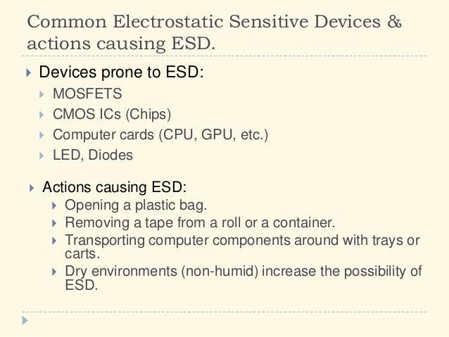 5 12 Electrostatic Sensitive Devices