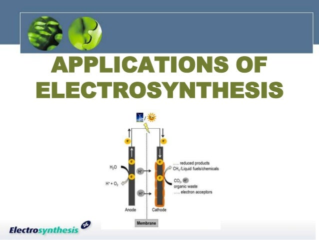 Electrosynthesis and electrochemistry