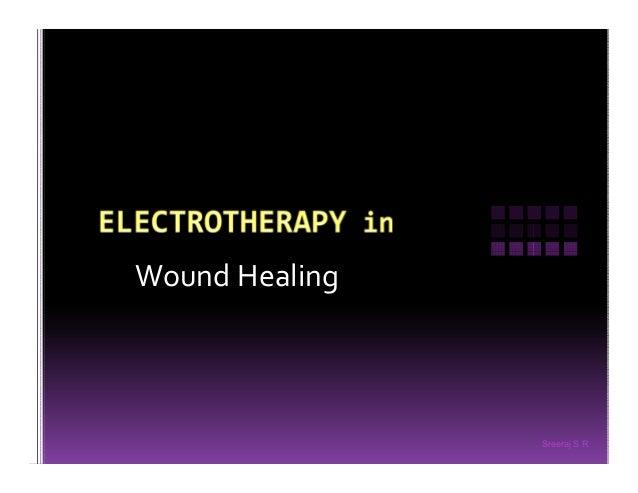 Sreeraj S R Wound Healing