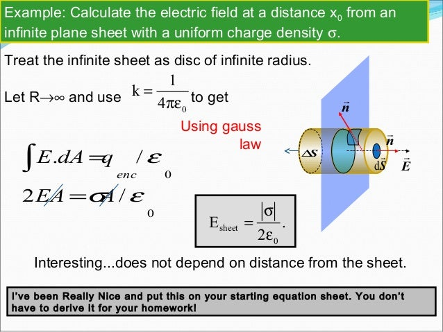 how to find flux with electric field
