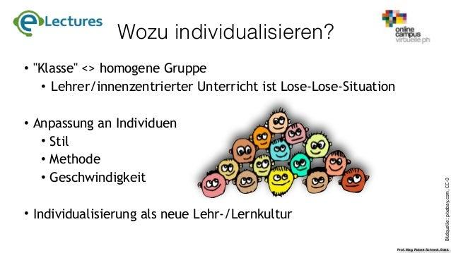 e-Lecture Individualisierung mit MOODLE Slide 3