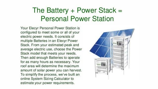 Elecyr Green Energy Storage Solution Slide 3