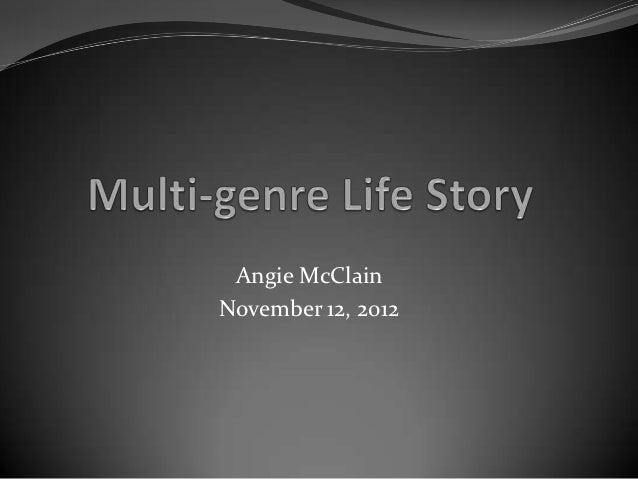 Angie McClainNovember 12, 2012