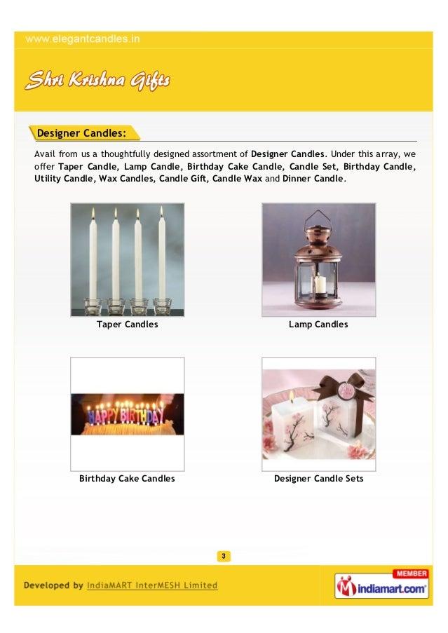 Shri Krishna Gifts, New Delhi, Taper Candles