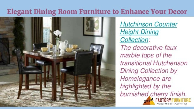 Elegant Dining Room Furniture ...