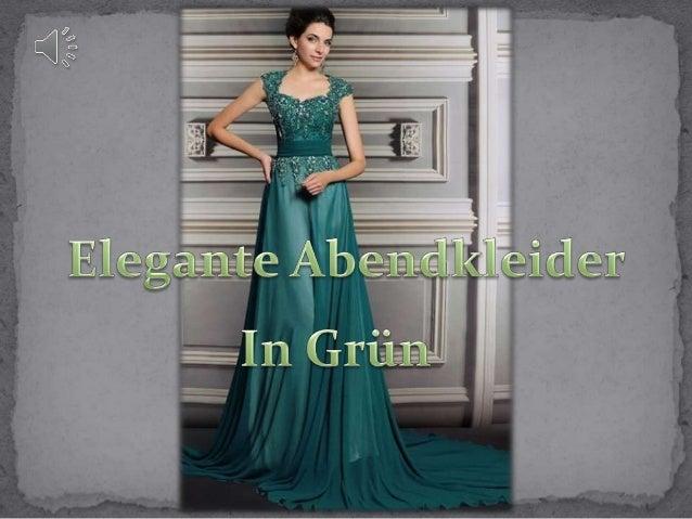 Elegante grüne abendkleider online persun