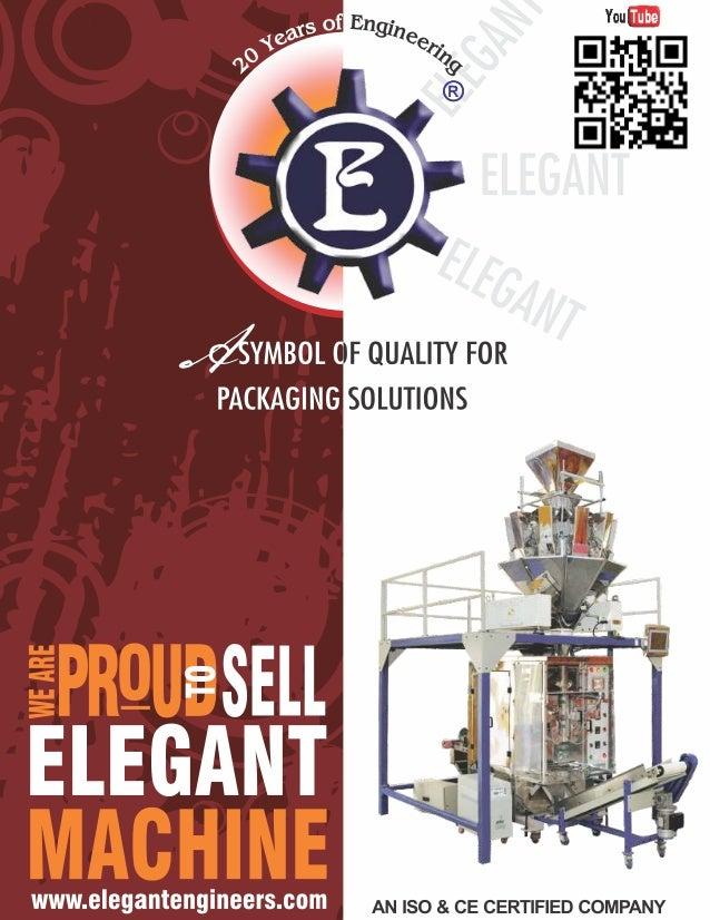Elegant Eengineers, Nnoida, Pouch Packaging Machines