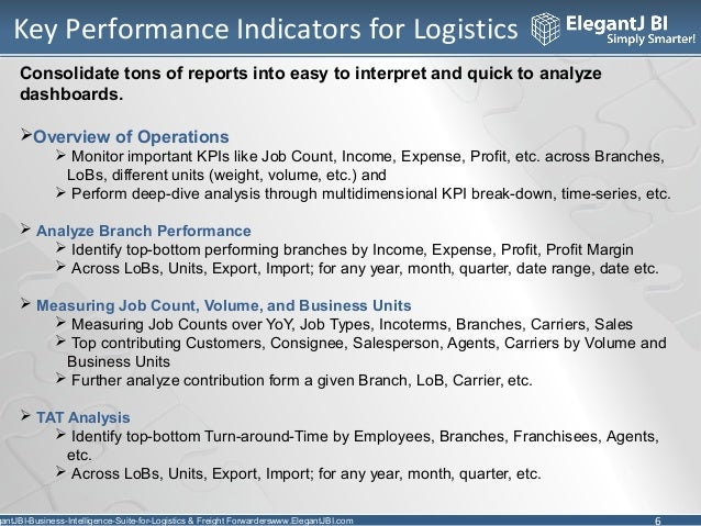 business intelligence for logistics and freight forwarders