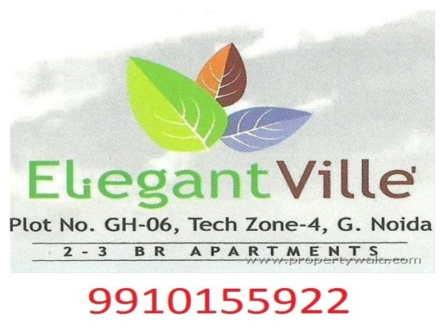 Elegent Ville Resale - 9910155922 , Noida Extension Flats