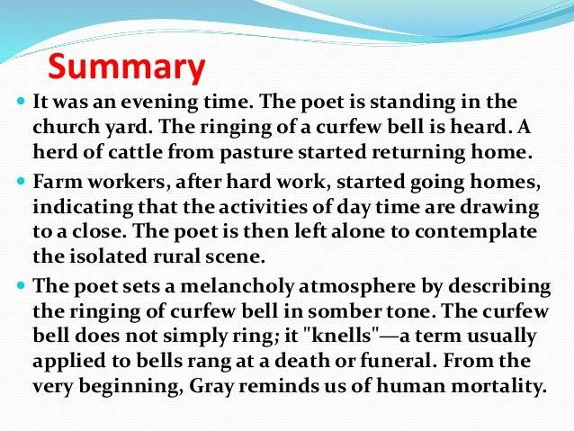 thomas gray elegy written in a country churchyard analysis