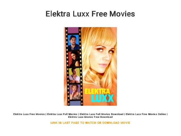 elektra luxx full movie online free