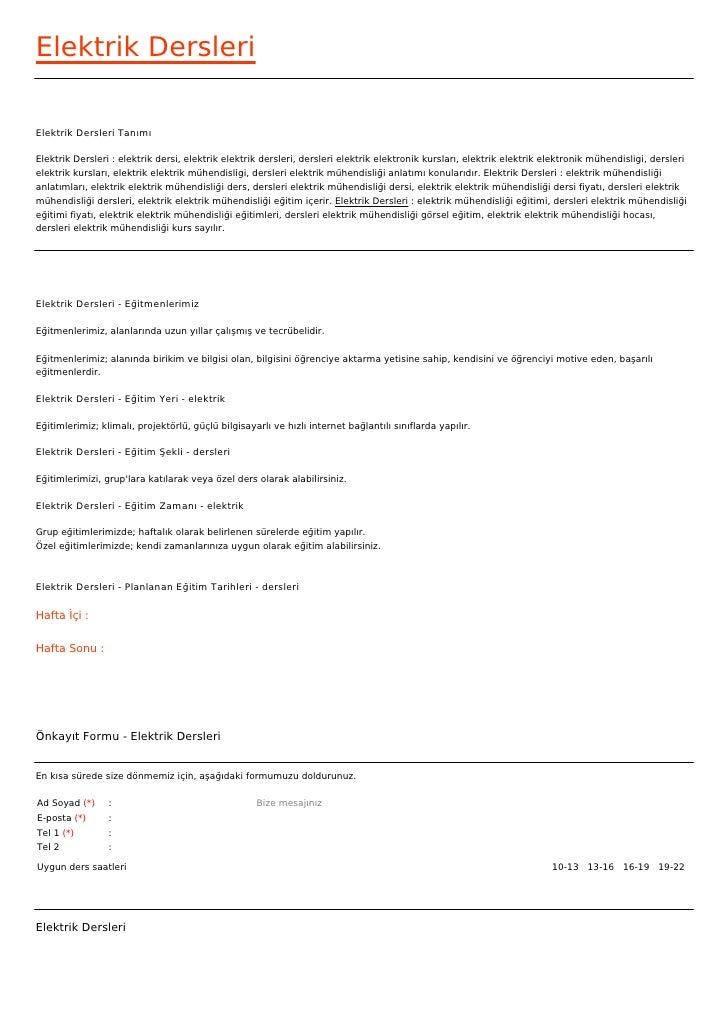 Elektrik DersleriElektrik Dersleri TanımıElektrik Dersleri : elektrik dersi, elektrik elektrik dersleri, dersleri elektrik...