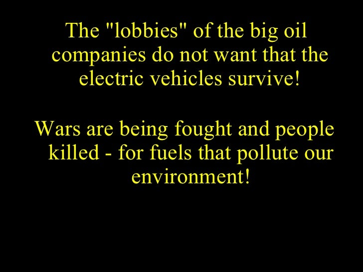 Who Killed The Electric Car Essay