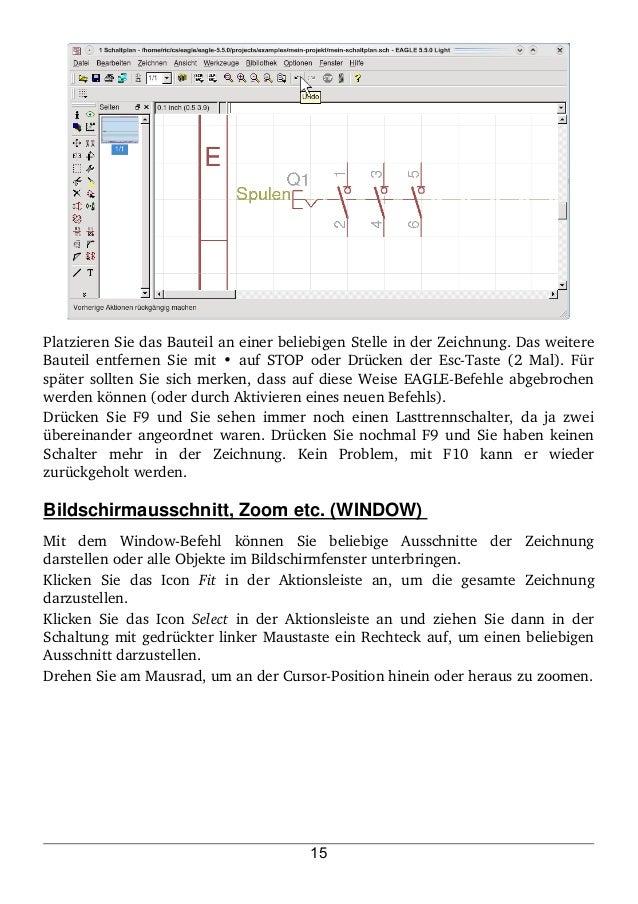 Trainingshandbuch Eagle V5 - Elektro-Tutorial