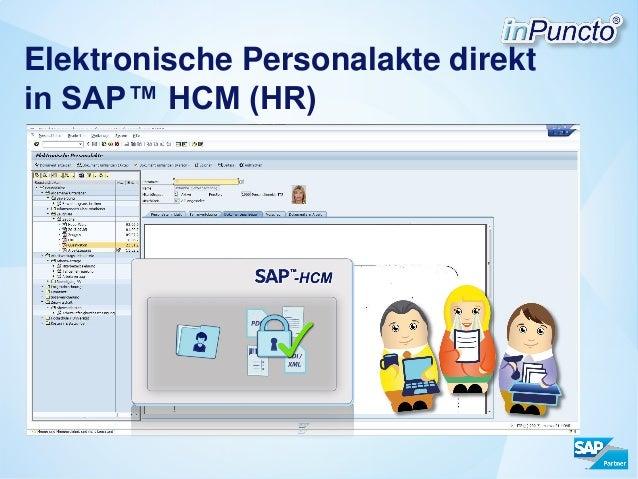 Elektronische Personalakte direkt in SAP™ HCM (HR)