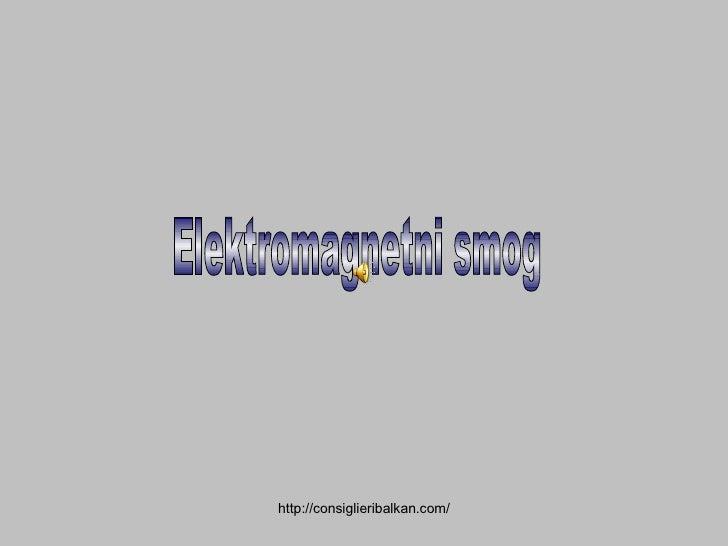 Elektromagnetni smog
