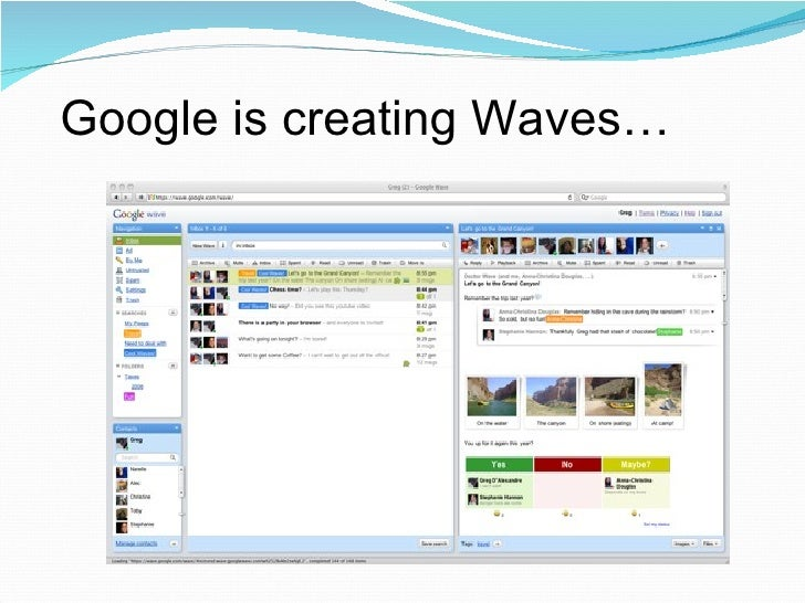 Google is creating Waves…