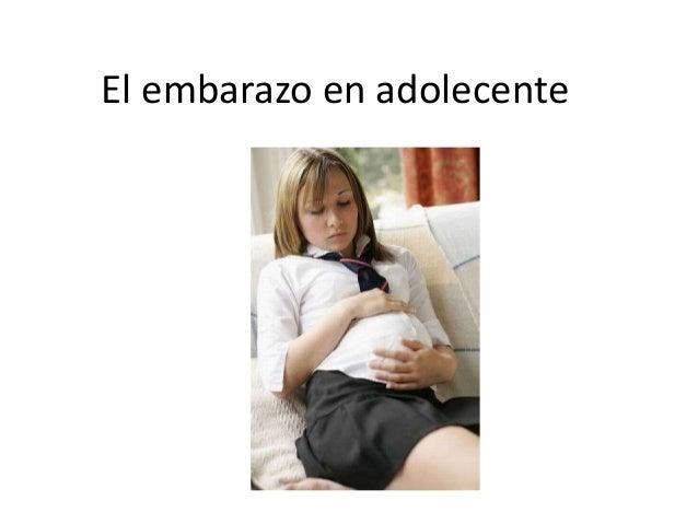 El embarazo en adolecente