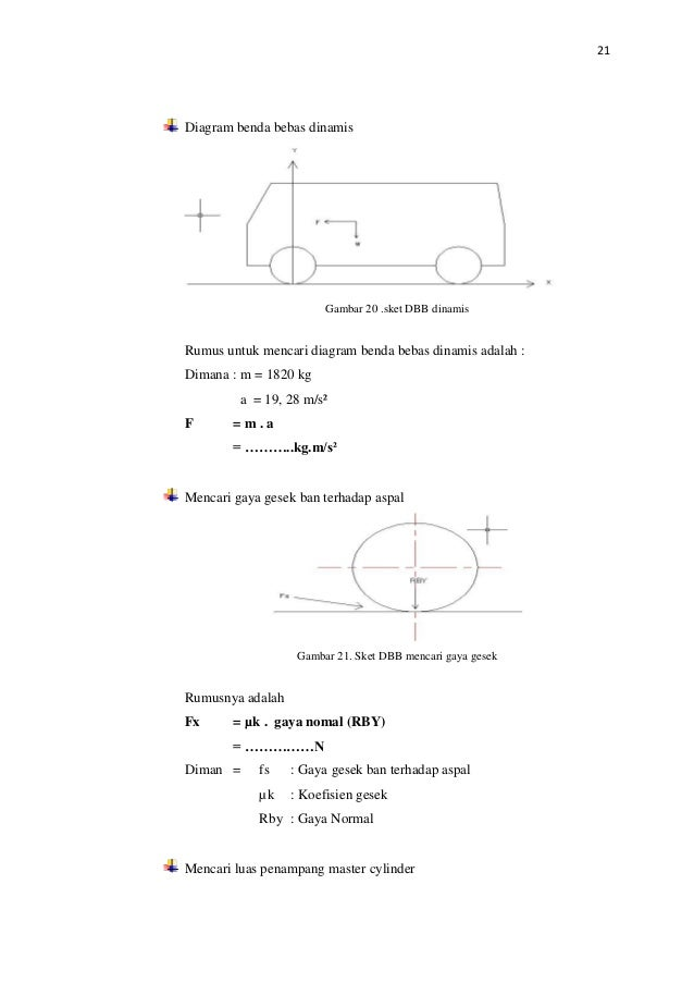 Elemen mesin ii 26 21 diagram benda bebas ccuart Images