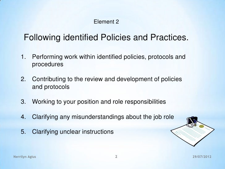 work within a legal and ethical Free essay: work within a legal and ethical framework task a question 1 why is important for a worker in the csi to follow their job description it is.