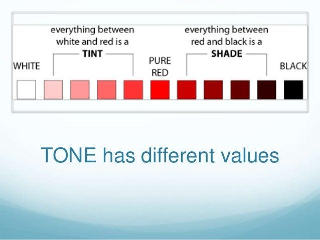 Tone Art Element : Elements of art tone