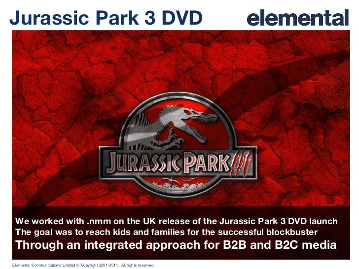 an introduction to the analysis of the jurassic park Jurassic park iii (2001) on imdb: plot summary, synopsis, and more.
