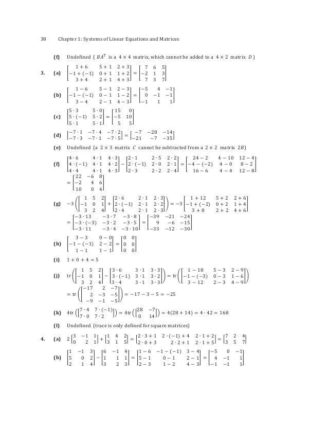 Elementary Linear Algebra Solutions Manual