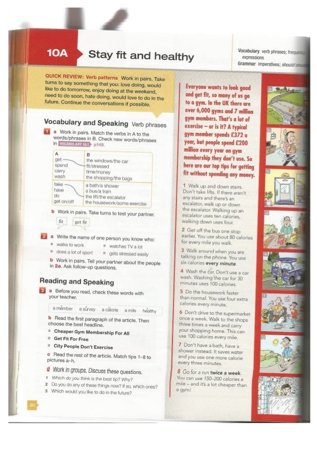 face2face Elementary student's book 2nd edition