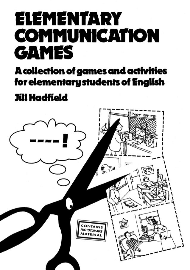 games activities and elementary
