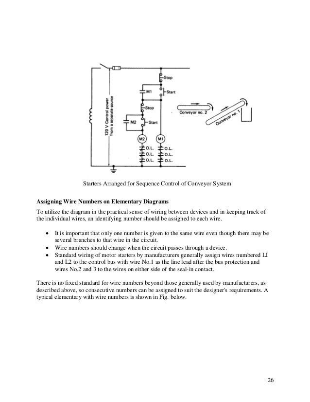 elementary diagrams three phase motor control circuit diagram types of electrical diagrams