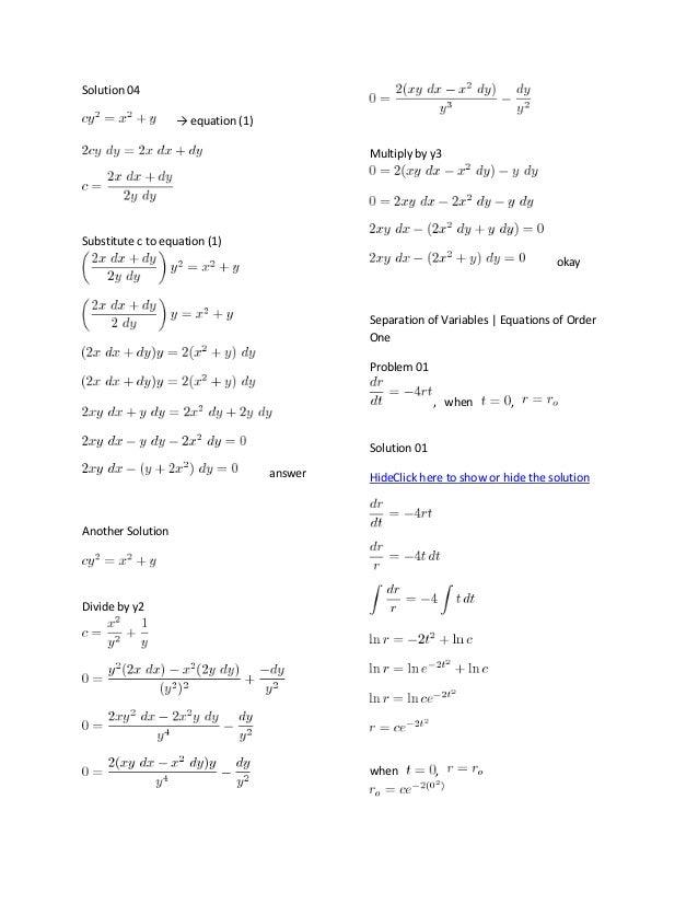 elementary differential equation rh slideshare net elementary differential equations rainville 8th edition solution manual elementary differential equations rainville 8th edition solution manual pdf free