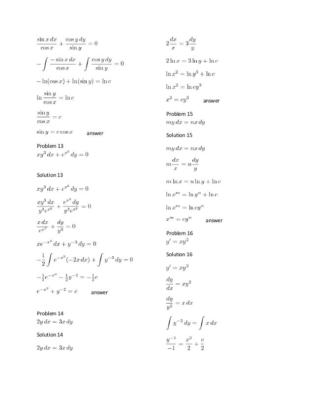 elementary differential equation rh slideshare net elementary differential equations rainville solution manual elementary differential equations rainville solution manual