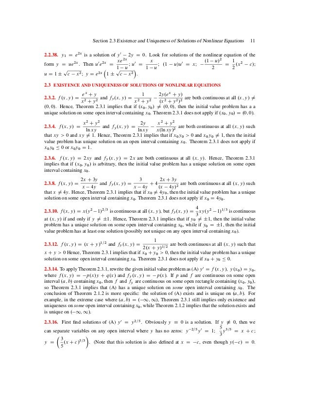 elementary differential equation and boundary value problems solution manual
