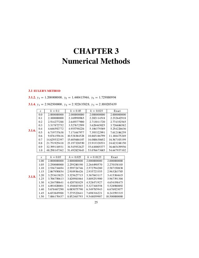 Elementary differential equations with boundary value