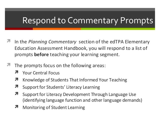Elementary education task 1 2
