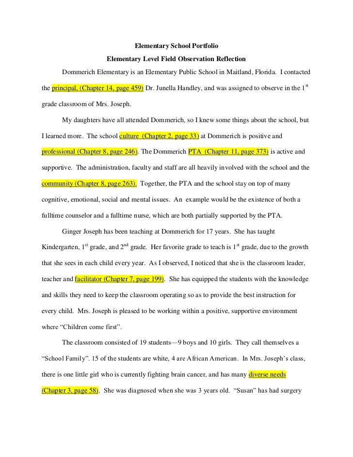 Education/Observation Report of A Child At Elementary School Recess term paper 13268
