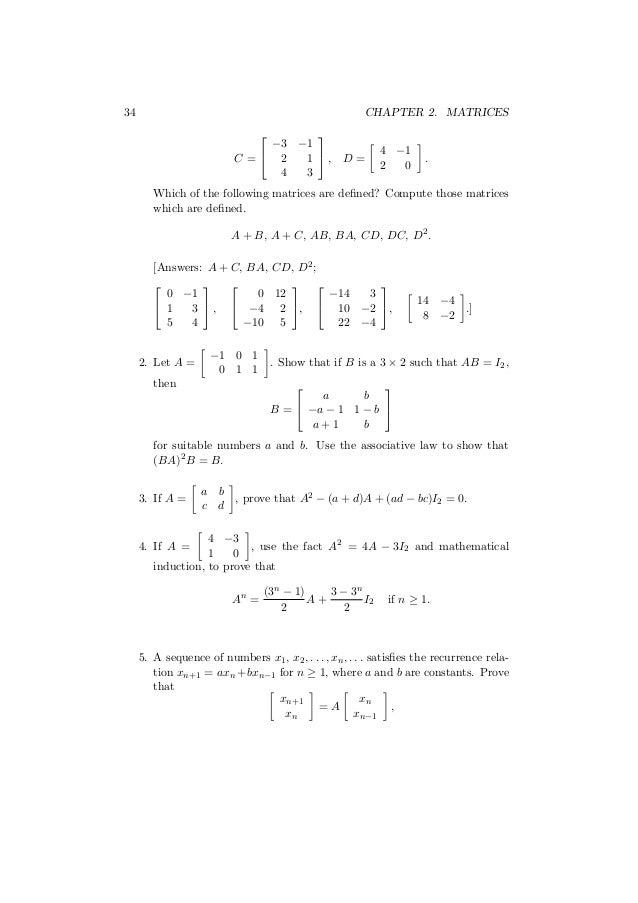Linear algebra c-3
