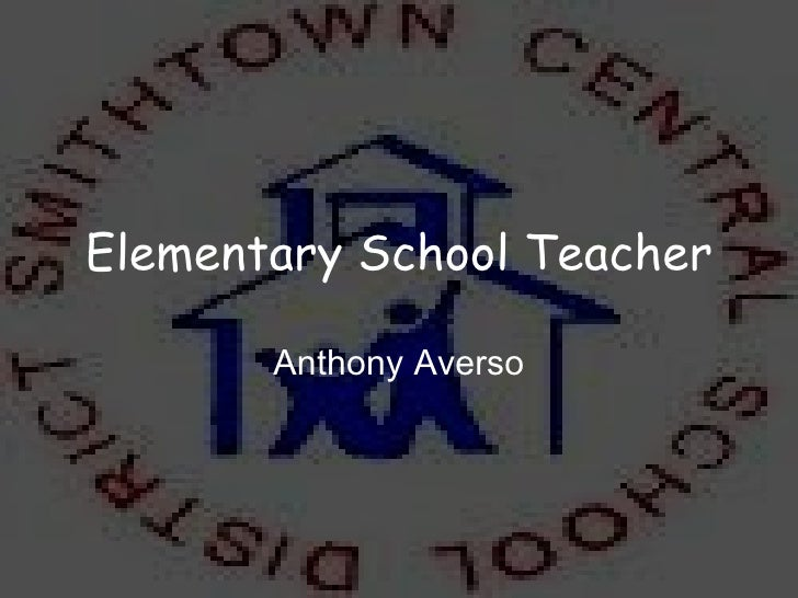 Elementary School Teacher Anthony Averso