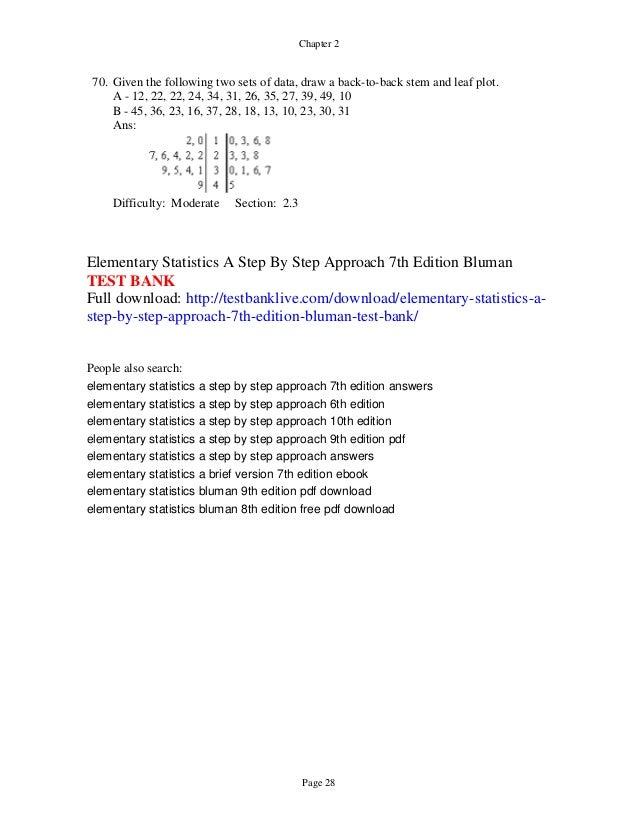 Elementary Statistics Triola 10th Edition Pdf