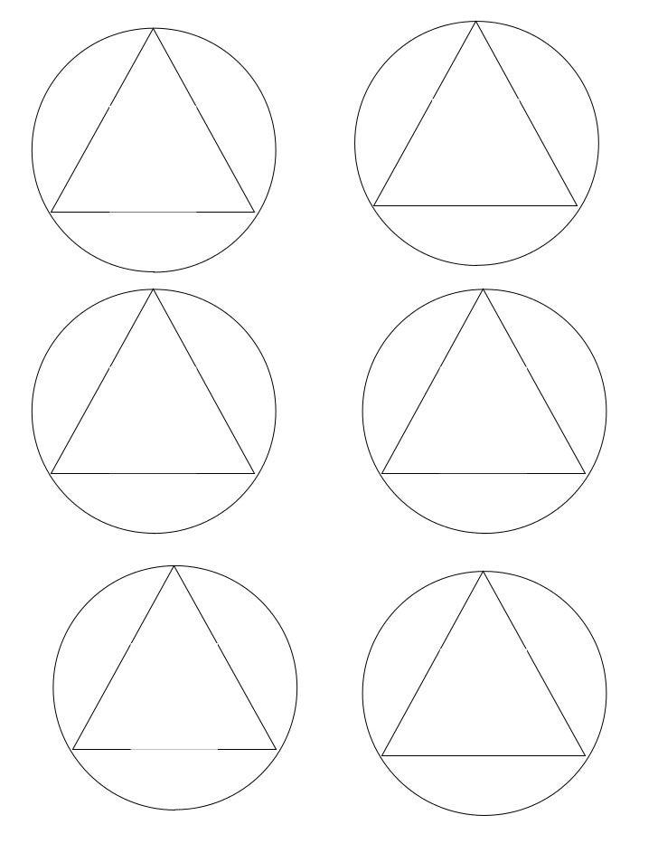 Element ball template
