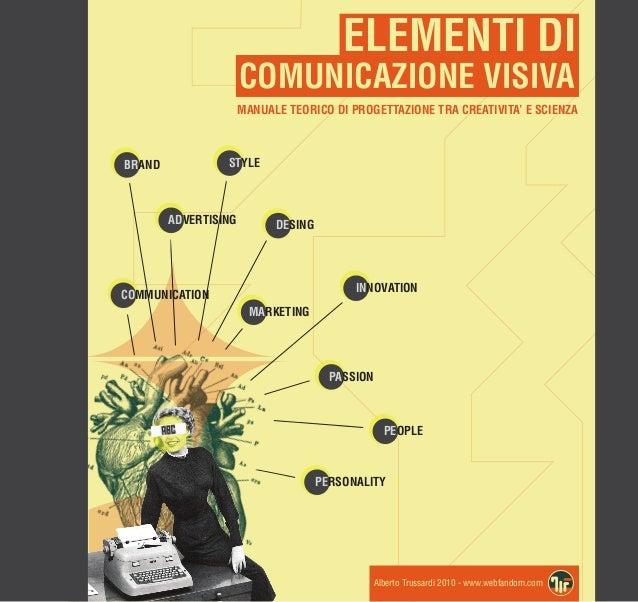 ELEMENTI DI                      COMUNICAZIONE VISIVA                      MANUALE TEORICO DI PROGETTAZIONE TRA CREATIVITA...