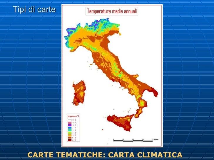 Geografia elementi di cartografia - I diversi tipi di carta ...