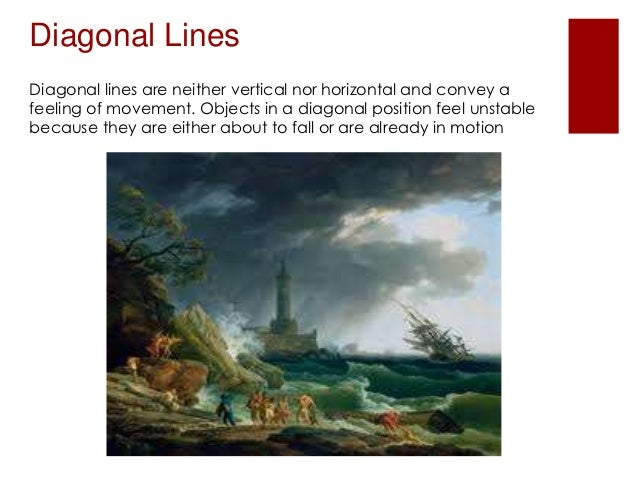 Diagonal Line Definition In Art : Element of art line