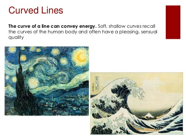 Curved Line Definition In Art : Element of art line