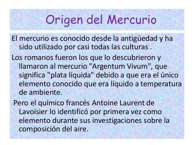 Elemento mercurio el elemento mercurio ana karen ruiz robles 3a 2 urtaz Gallery
