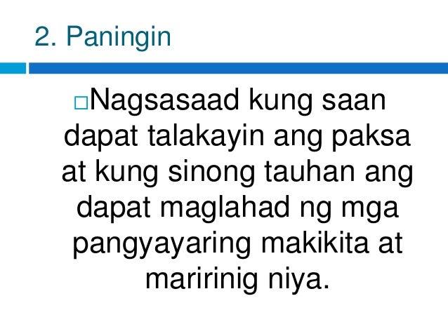 halimbawa ng masining na paglalarawan Ang isang maayos at mabisang pakikipagtalastasan sa kapwa ay sa pamamagitan ng pagkakaroon ng masining na pagpapahayag.
