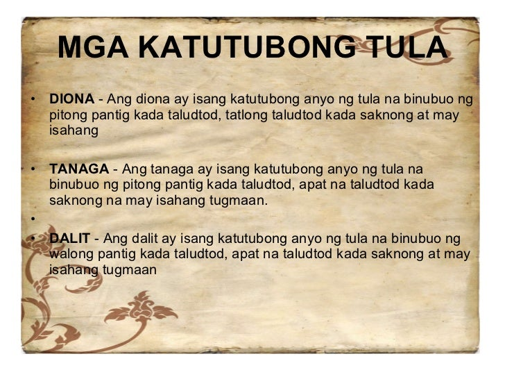 tula ng mga matatanda Contextual translation of sabi ng mga matatanda into english human translations with examples: of pages, some say 2015, adult diapers, collective nouns.