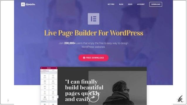 Elementor - WordPress WYSIWYG Page Builder Slide 3