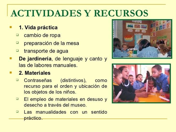 Elementos Curriculum Agazziano